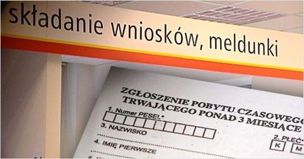 Прописка в Польше (мельдунек)
