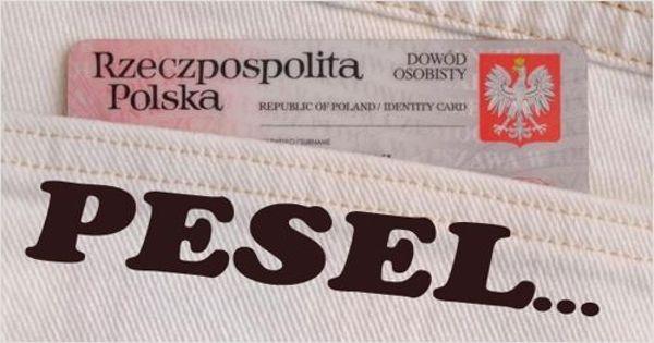 Отримання номера PESEL