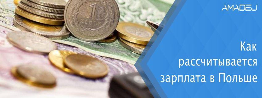 Как рассчитывается зарплата в Польше